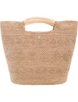 Woven Raffia Top Handle Tote by Helen Kaminski