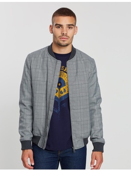 Checked Bomber by Ben Sherman