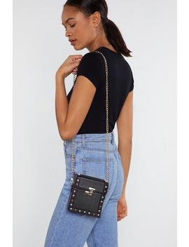 Want Out Of The Box Chain Shoulder Bag by Nasty Gal