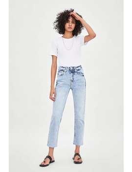 Slim Fit Hi  Rise Jeansjoin Life Woman Corner Shops by Zara