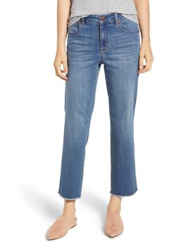Ankle Straight Leg Jeans by 1822 Denim