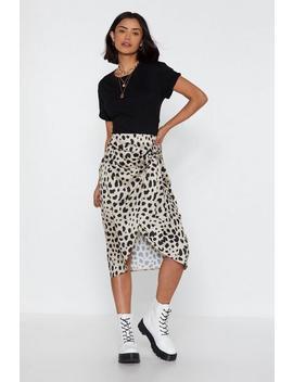 Don't Spot Dalmatian Wrap Skirt by Nasty Gal