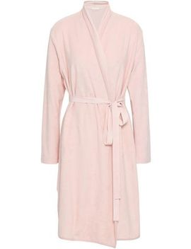 Cotton Blend Terry Robe by Skin
