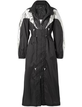 Rumber Two Tone Shell Hooded Jacket by Isabel Marant