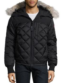 Pritchard Diamond Quilted Coat by Canada Goose