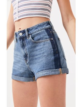Pac Sun Tux Blue Denim Mom Shorts by Pacsun