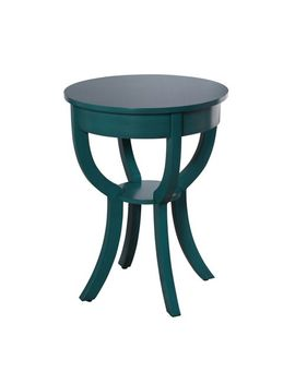 Traditional Turquoise End Table by Pier1 Imports