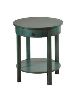 Blue Round Side Table by Pier1 Imports