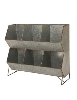Galvanized Metal Farmhouse Storage Shelf by Pier1 Imports