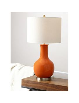 Leanne Orange Ceramic Table Lamp by Pier1 Imports