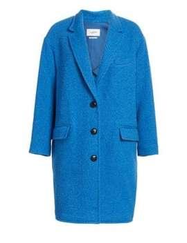 Gimi Long Boxy Wool Blend Coat by Isabel Marant Etoile