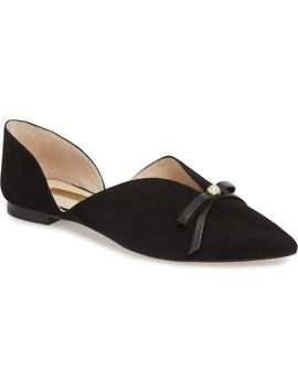 Cly Pointy Toe Flat by Louise Et Cie