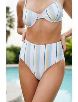 Ete Swimwear Sorrento High Waisted Bikini Bottom by Pacsun
