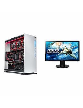 """Skytech Gaming 8700k 1080 Ti Gaming Desktop + Asus 24"""" Gaming Monitor by Skytech Gaming"""