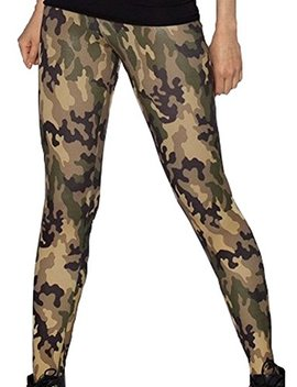 Sister Amy Women's Floral Printed Footless Elastic Tights Legging by Sister Amy