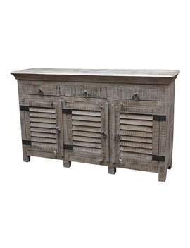 Drummond 3 Drawer Sideboard by Rosecliff Heights