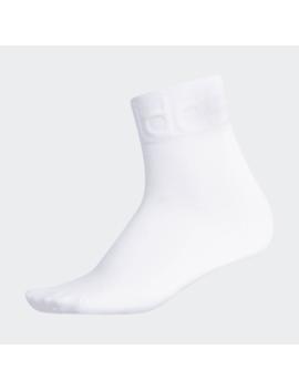 Tonal Forum Quarter Socks by Adidas