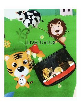 😍Authentic Louis Vuitton Monogam Mini Pochette Lions Cats  New Limited Mini Bag by Louis Vuitton