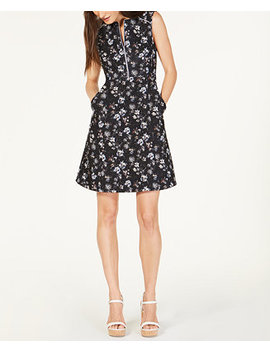 Printed A Line Dress, Created For Macy's by Nanette Lepore