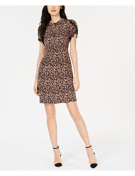 Printed Lace Trim Dress, Created For Macy's by Nanette Lepore