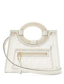 Runaway Small Leather & Pvc Shoulder Bag by Fendi