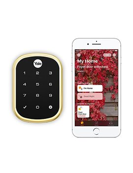 Yale Security Yrd256 I M1 605 Assure Lock Sl Yale Assure Lock Sl Works With Apple Home Kit   With Im1 Network Module (Yrd256i M1605), Polished Brass by Yale Security