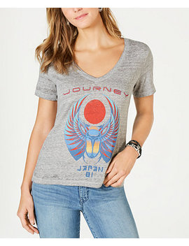Graphic V Neck Top by Lucky Brand