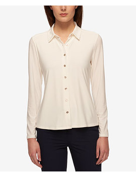 Point Collar Blouse by Tommy Hilfiger