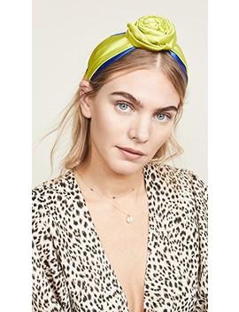 Colorblock Bun Headband by Namjosh