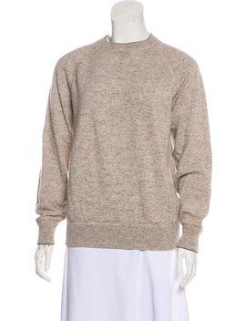 Cashmere Crew Neck Sweatshirt by Brunello Cucinelli
