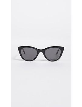 X Clare V. 47 Cat Eye Sunglasses by Garrett Leight