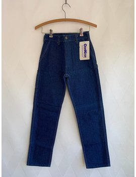 Vintage 1960s Dead Stock Oshkosh B'gosh Kids Denim Painters Pants, Carpenter Pants by Etsy