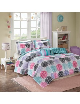 Purple Brittany Reversible Comforter Set by Shop This Collection