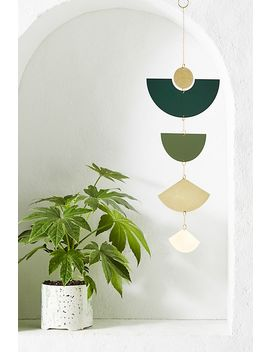 Circle And Line Wall Hanging by Anthropologie