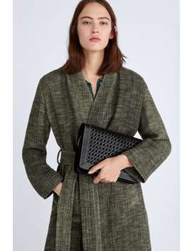 Woven Leather Crossbody Bag  View All Bags Woman by Zara