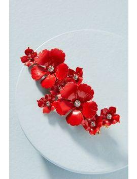 Jennifer Behr Oleander Flowers Barrette by Jennifer Behr