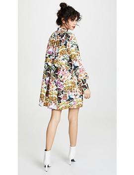 Tiered Ruffle Mini Dress by Adam Lippes