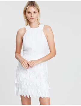 Feather Bottom Dress by Reiss