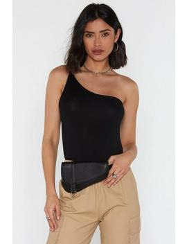 One In A Million One Shoulder Bodysuit by Nasty Gal