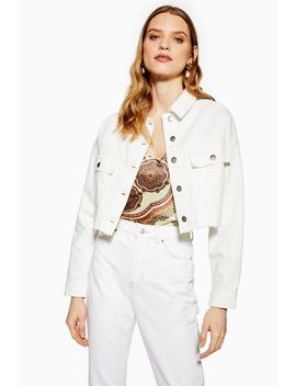 Denim Hacked Off Jacket by Topshop