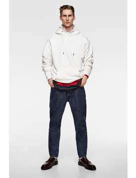 Pouch Pocket Sweatshirt  Biker & Jogger Jeans Man by Zara