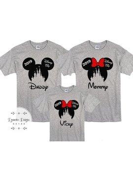 Disney Shirts, Disney Family Shirts, Family Disney Shirts, Disney Vacation Shirts, Matching Disney Shirts, Disney Trip 2019, Magic Kingdom by Etsy
