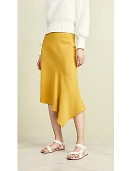 Draped Bias Skirt by Tse Cashmere