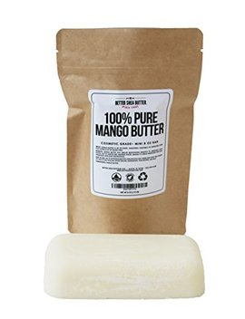 100 Percents Pure Mango Butter   Can Substitute Shea Butter In Soap And Lotion Recipes   Moisturizing,... by Better Shea Butter
