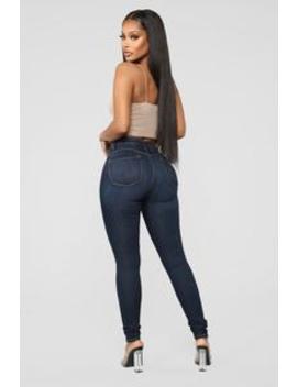 Classic Beauty Skinny Jeans   Dark Denim by Fashion Nova