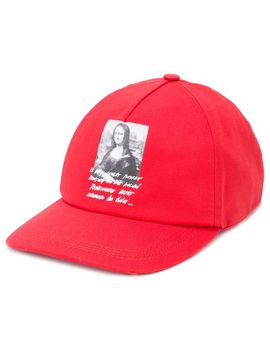 Mona Lisa Printed Cap by Off White