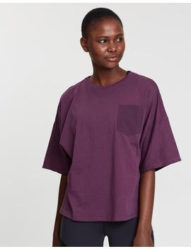 Training Supply Pocket Tee by Reebok Performance