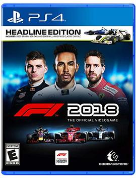 F1 2018 Headline Edition – Play Station 4 by By          Deep Silver