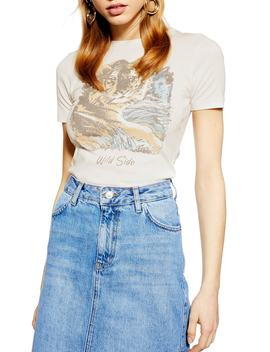 Wild Side Tee by Topshop