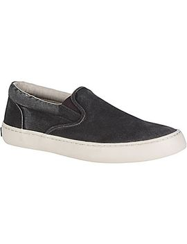 Men's Cutter Slip On Salt Washed Sneaker by Sperry